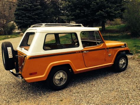 willys jeepster commando 1971 jeepster commando colorado sold ewillys