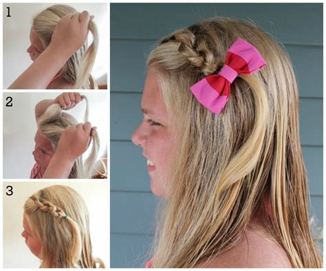 new hairstyles for school for 7 11 girls different quick and easy hairstyles for little girls