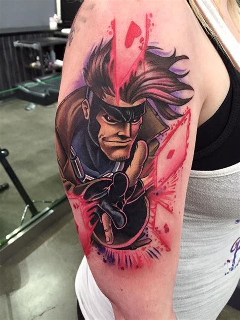 gambit tattoo 1000 ideas about vegas on small travel