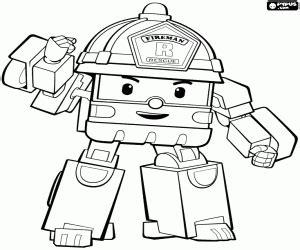 Disegni Di Robocar Poli Da Colorare E Stampare