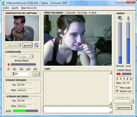 mi chat con camara software videoconferencia y chat con webcam gratis