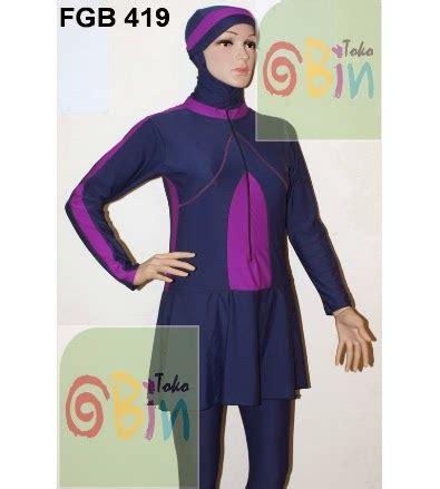 Baju Renang Muslimah Fgb 794 by Toko Abin 085291502104 Baju Renang Muslimah Baju