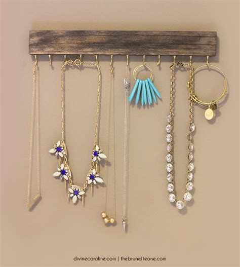 make your own photo jewelry make your own wall mounted jewelry holder more