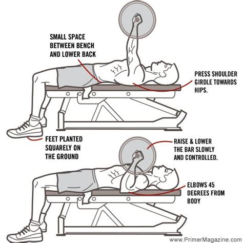 how to do a flat bench press 25 best ideas about bench press workout on pinterest