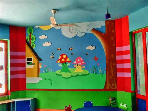 catchy collections of kindergarten school wall decoration