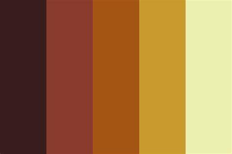 honey color honey coconut color palette