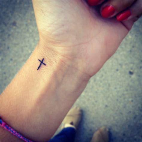 small crucifix tattoos 35 inspiring cool wrist tattoos for to get now