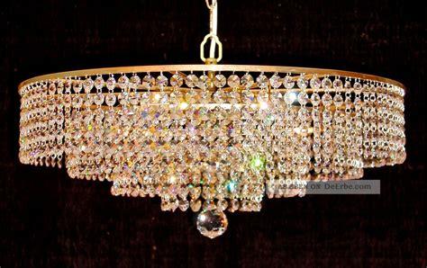 kristall luster kristall kronleuchter korb l 220 ster deckenle stra 223
