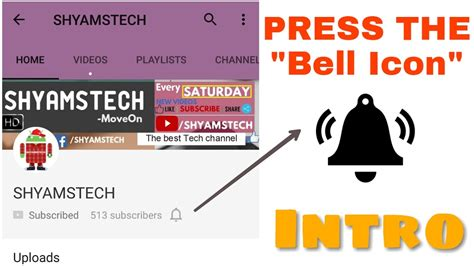 Bell Icon Intro Template Custom Download Youtube Bell Icon Intro Template After Effects