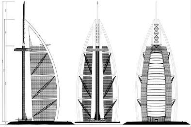 How To Draw Floor Plan In Autocad Drawings Amp Diagrams Burj Al Arab