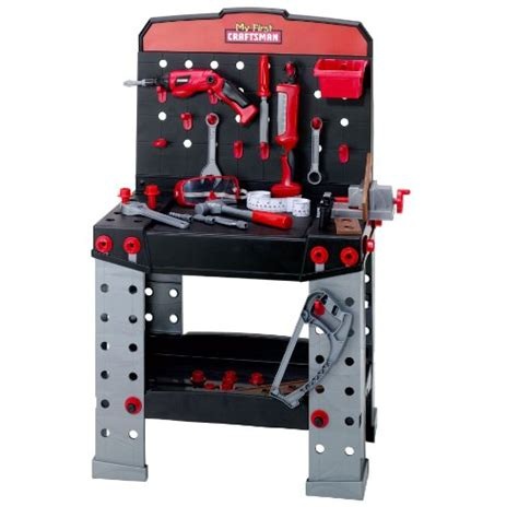 craftsman tool bench for kids my first craftsman workbench with 2 power tools new ebay