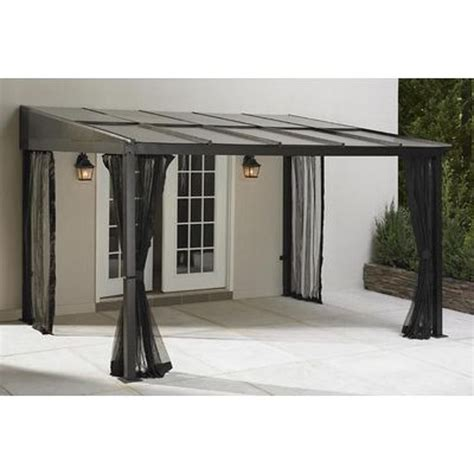 Outdoor Gazebo Canopy Add A Room Patio Furniture Shade Canopy For Room