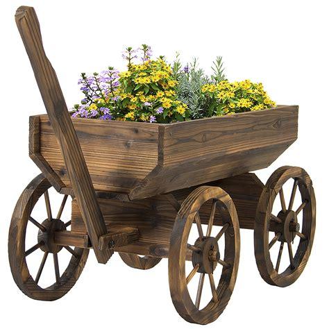 Wooden Garden Cart by Wooden Garden Cart Decor Ideasdecor Ideas