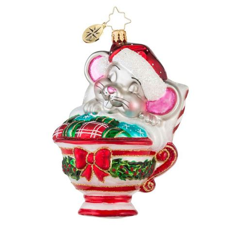 christopher radko ornaments 2016 radko maxwell mouse
