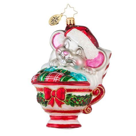christopher radko ornaments 2016 radko maxwell mouse