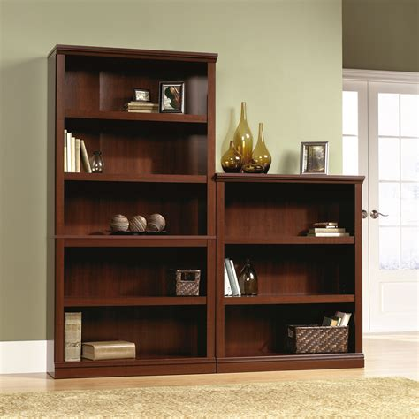 sauder bookcase with sauder select 3 shelf bookcase 412808 sauder