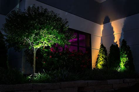 landscaping lights led 8w led landscape spotlight cool white 550 lumens led