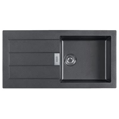 Franke Black Kitchen Sinks Franke Tectonite 611 1000x510 Carbon Black Kitchen Sink In Bangalore India Buy At Best