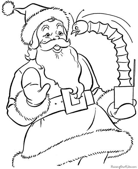 printable coloring pages santa free coloring pages santa coloring home