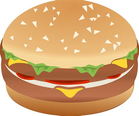 hamburger clipart clipart hamburger burger remix with colors
