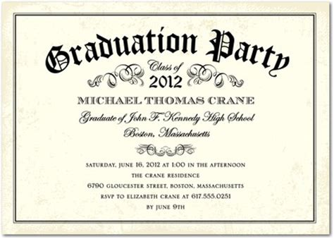 dandy diploma graduation invitations in vanilla hello