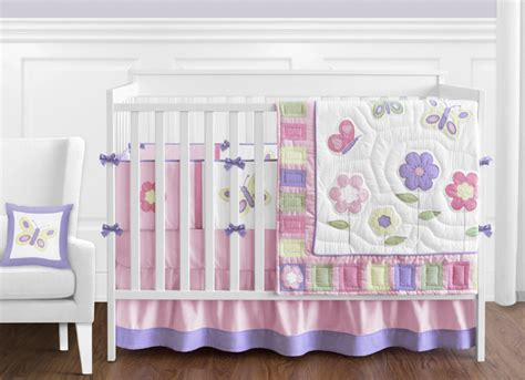 Pink Butterfly Crib Bedding Butterfly Pink And Purple Crib Bedding Collection