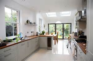 galley kitchen extension ideas let the light in skylights save energy and brighten your