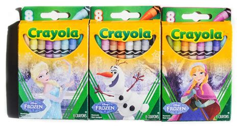 Frozen Crayola 8 count frozen themed crayola crayon box set what s