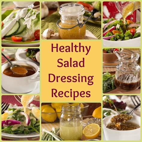 recipes for healthy salad dressing recipes 8 easy favorites