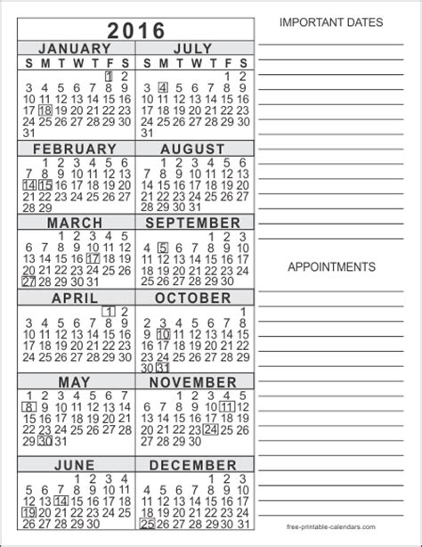 calendar 2016 only printable yearly 2016 calendar printable whole year search results