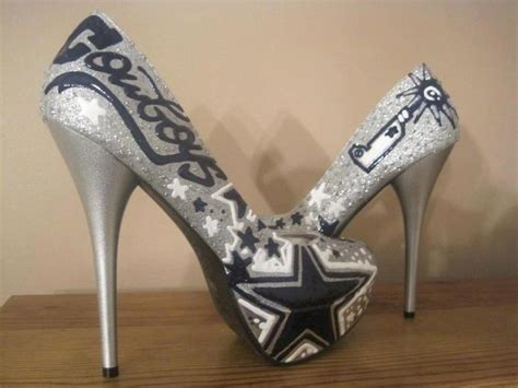 dallas cowboys womens high heels dallas cowboys heels arts and crafts
