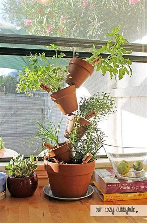 diy herb planter diy indoor herb garden ideas
