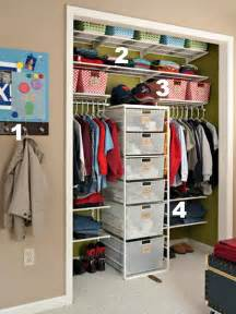 small closet organization ideas home sweet home on a budget organizing kids closets diy