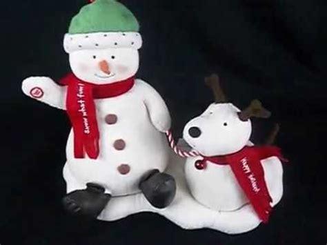 hallmark bathroom snowman hallmark christmas singing snowman dog funnydog tv
