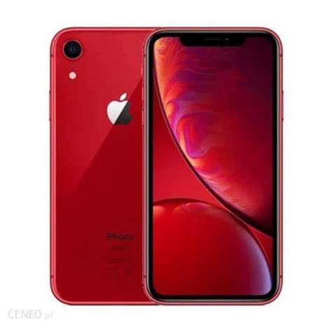 Iphone Xr by Apple Iphone Xr 64gb Czerwony Ceny I Opinie Na Ceneo Pl