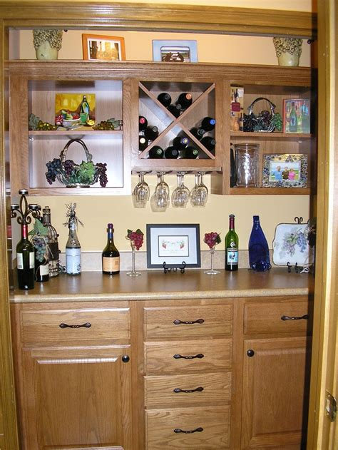 Closet Bar When We Moved Into Our New Home I Gutted A Coat Closet