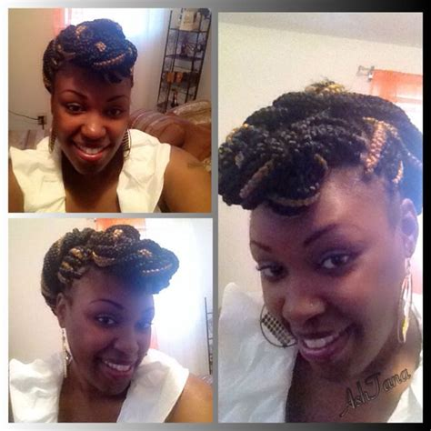 pictures of pinned up braids box braids pin up do box braids pinterest