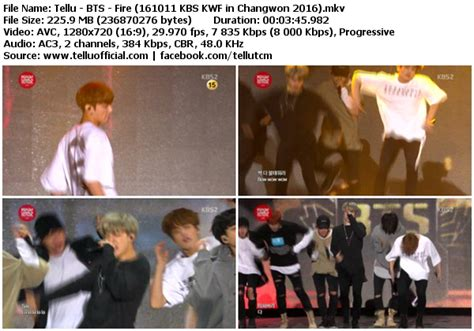 download mp3 bts fire download perf bts fire kbs kwf in changwon 2016 161011