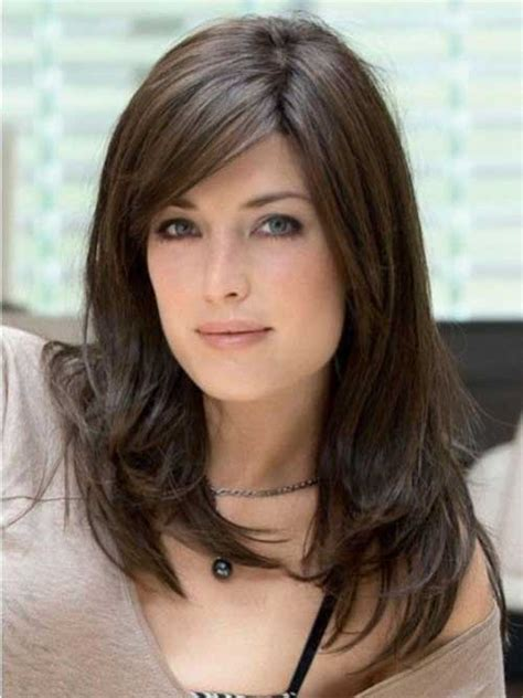 Brunette Hairstyles For Oval Faces | 20 best haircuts for oval face hairstyles haircuts