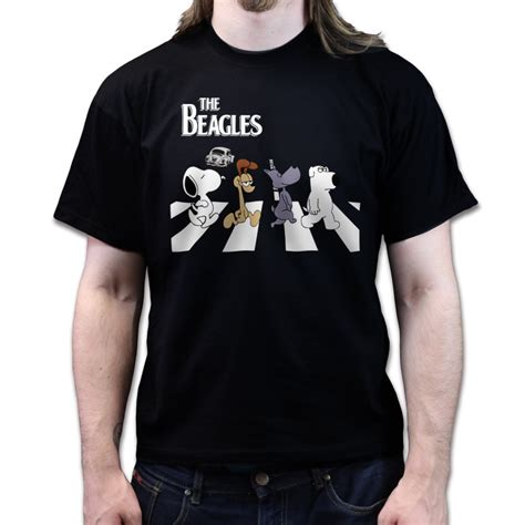 Hoodie Sweater The Beattles Clothing the beagles beatles tribute snoopy odie doug brian road t shirt ebay