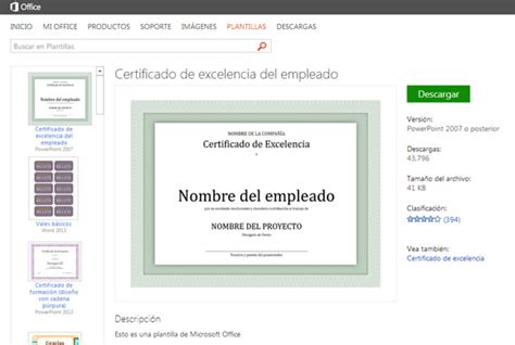 como descargar sertifidos en microsoft gratis 187 descargar plantillas de powerpoint en espa 241 ol