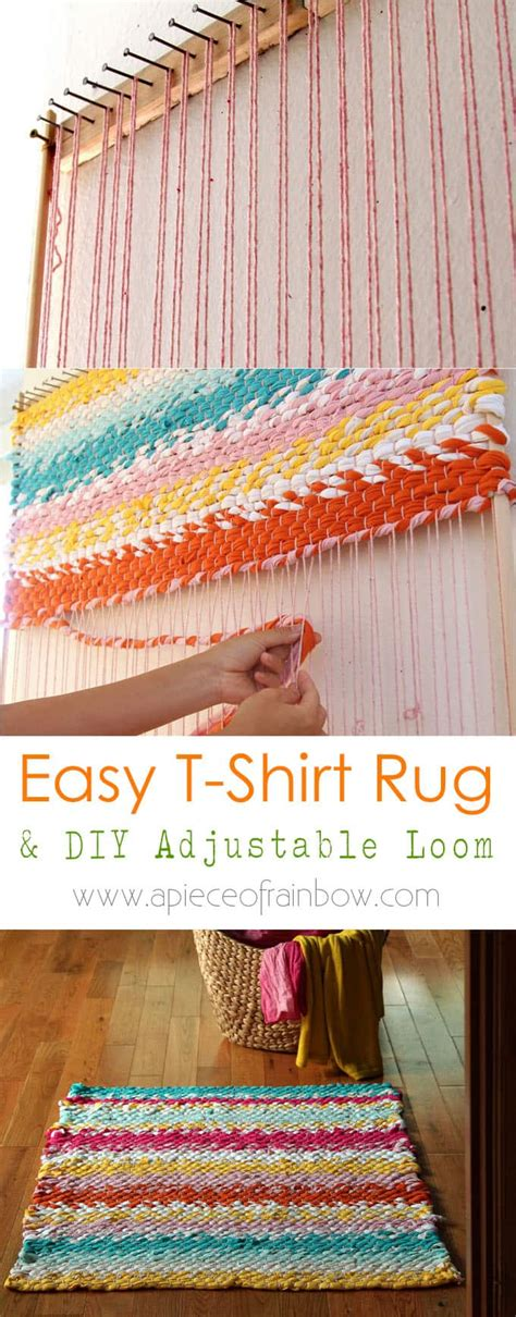weave a t shirt rug with easy diy loom page 2 of 2 a