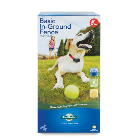 in ground fence petsafe premium basic in ground fence pig00 14582