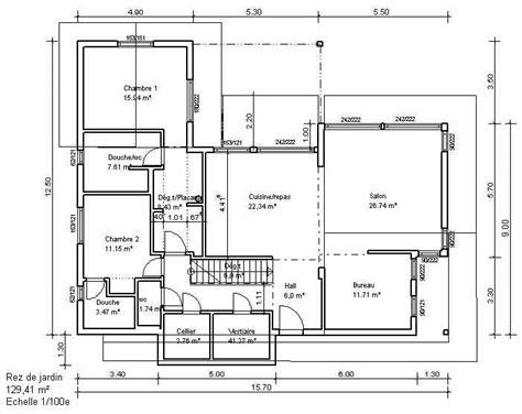 mapa de la casa de co logiciel plan maison 2d evtod