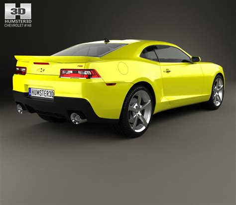 chevrolet new models 2014 chevrolet camaro rs coupe 2014 3d model humster3d