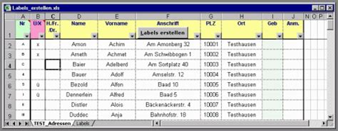 Etiketten Drucken Excel Vba by Vb Rchiv 183 Tipps Tricks 183 Labels Etiketten Erstellen