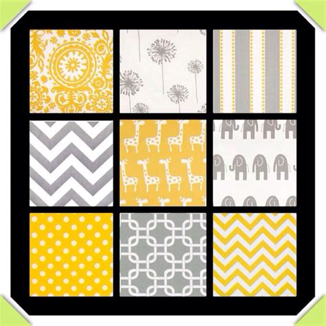 Yellow Crib Blanket by Grey And Yellow Crib Bedding