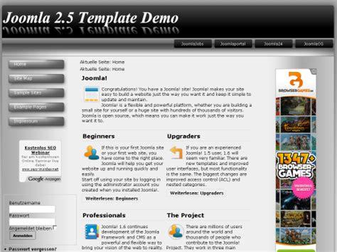 template joomla black and white go vista black white template joomla 2 5