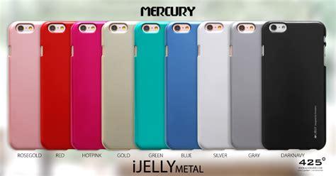 Mercury Jelly Iphone 6 Putih mercury jelly metal iphone 4s 4 iphone se 5s 5 ร ว ว