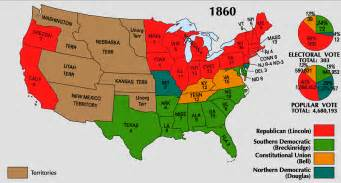 maps united states map of 1860